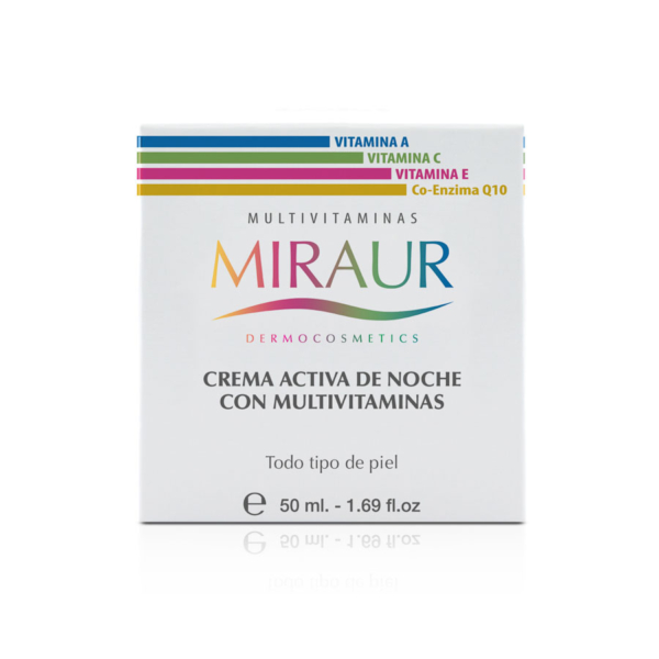 NIGHT CREAM WITH MULTIVITAMINS-miraur-dermocosmetics