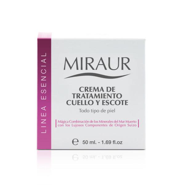 TREATMENT CREAM FOR NECK AND CHEST miraur-dermocosmetics