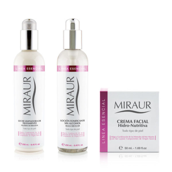 Essential Pack 3 steps-miraur-dermocosmetics